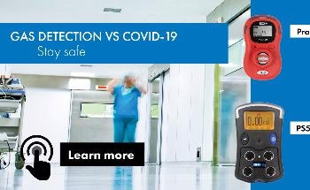 Portable Gas Detectors for Staff Protection During COVID-19
