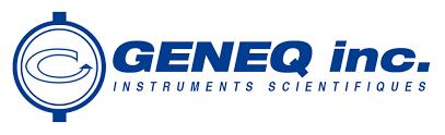 GENEQ Inc. logo.