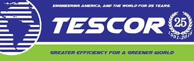 Tescor Inc. logo.