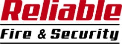 Reliable Fire & Security logo.