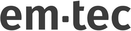 em-tec GmbH logo.