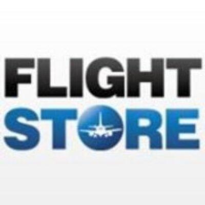 Flightstore logo.