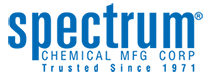 Spectrum Chemical Mfg. Corp. logo.
