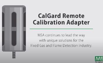 MSA CalGard Remote Calibration Adapter