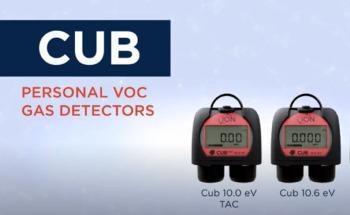 Personal VOC Gas Detector: Cub 10.6 eV