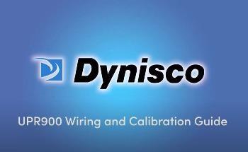 Dynisco UPR900 Wiring Guide
