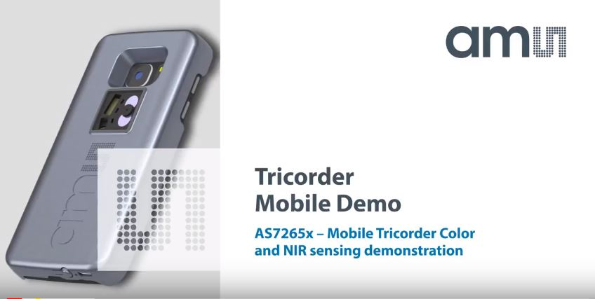AS7265x - Tricorder Mobile Demo