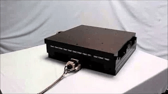 High Capacity Linear Stage with a Large Payload Capacity
