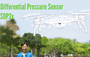 SDP3x Differential Pressure Sensor